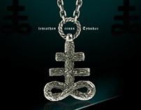 Leviathan necklace, Leviathan cross - Tyvodar.com