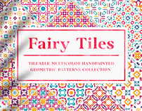 Fairy Tiles vol.2 - Watercolor Seamless Patterns