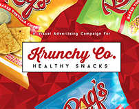 A Visual Advertising Campaign for Krunchy Co.