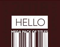 Hello Mega Pack