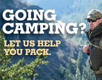 LAPG Camping Postcard & Patches
