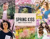 Free Spring Kiss Mobile & Desktop Lightroom Presets