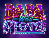 Logo, character, lobby for Baba Slots