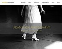 PHOTOGRAPHER A Dash Portfolio Website, Logotype