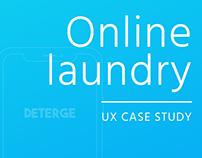 Deterge | Laundry App | UX Case Study