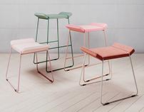 Frankie Stool - Johanson Design