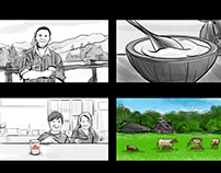 Storyboard for TV Promo