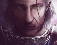 Geralt of Rivia - Witcher 3 fanart