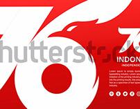 Logo Hut RI 76 Tahun, Konsep Desain