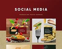 Social Media | Pasqualine Pasta Express
