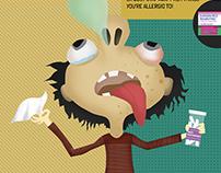 Allergies Infographics