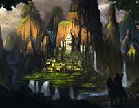 """La búsqueda onírica de la maravillosa Kadath"" Proceso"