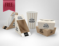 FREE Paper Deli Mockup Packaging - UPDATED