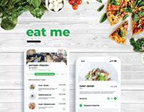 EAT ME App | Ui/Ux Design