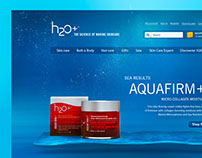 H2O Plus - Site institucional
