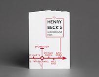 Typografie Projekt über Henry Beck's U-Bahn-Karten