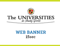 The Universities at Shady Grove | Web Banner