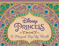 Disney Princess Pop-Up: Cover Design/Illustration