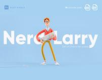 Nerd Larry
