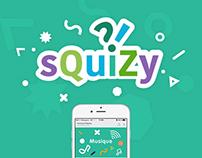 Squizy - Identite visuelle - UI