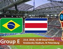 Soi kèo Brazil vs Costa Rica
