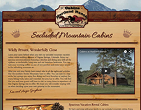 The Cabins at Hartland Ranch Responsive Website