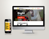 Sightsavers Website