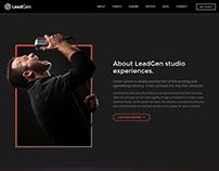 LeadGen - Multipurpose Marketing Landing Page - Music