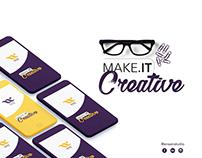 Make it . Creative | Ensan Studio Concept