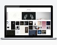 Kazha Imura's portfolio site redesigned 2015