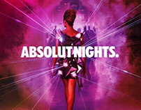 Absolut nights Campaña
