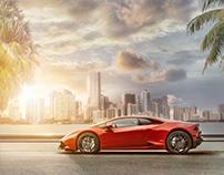 Lamborghini Huracán _ In Miami