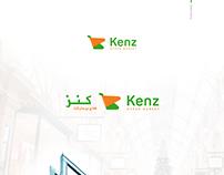 Kenz Hyper Market Logo Design