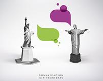 Claro, Comunicación sin fronteras.