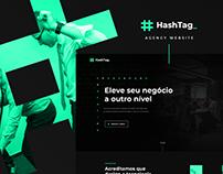 Agency website UI design