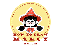 How to Draw Marcy / Character Design for Marcy