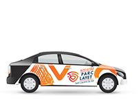Covering voiture Auto Ecole, Loolye Labat saint laurent