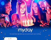 MyDay-Must have app when you are planning your birthday
