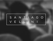 Branding & Website Design for santiagovellini.com