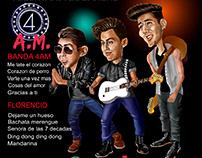 contra portada cd Radio Canela 2016