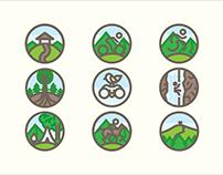 Outdoor Activities | Icons