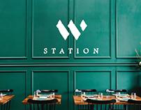W Station: Logo Design