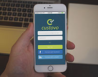 Custovo: UX/UI Design for Mobile