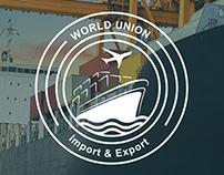 world union logo Design