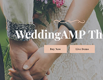 Wedding AMP Page Theme