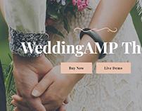 Wedding AMP Page Theme