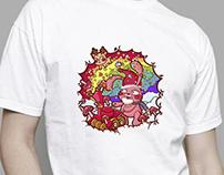 Snowblower-T-shirt Patten Design