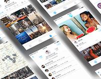 Ⓓ Lightour App GUI Design