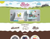 Baby Village - webdesign homepage