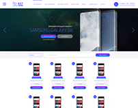 BETDOM auction website design